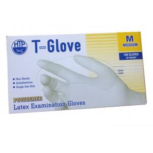 Găng tay cao su y tế T-Glove (size M)