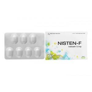 Thuốc trị đau thắt ngực Nisten – F 7.5mg (4 vỉ x 7 viên/hộp)
