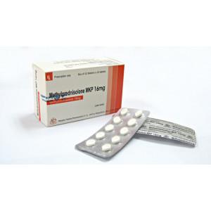 Thuốc kháng viêm Methylprednisolon 16mg MKP (3 vỉ x 10 viên/hộp)