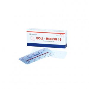 Soli-medon 16mg (3 vỉ x 10 viên)