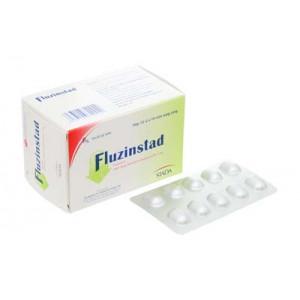 Thuốc điều trị đau nửa đầu Fluzinstad 5mg (10 vỉ x 10 viên/hộp)