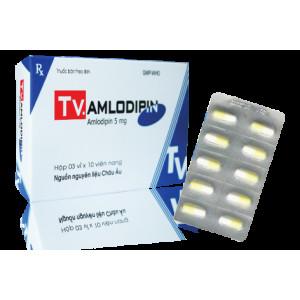 Amlodipin 5mg Tv.Pharm (3 vỉ x 10 viên/hộp)
