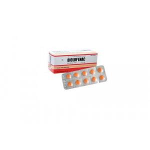 Thuốc giảm đau, kháng viêm Diclofenac DHG 50mg (10 vỉ x 10 viên/hộp)