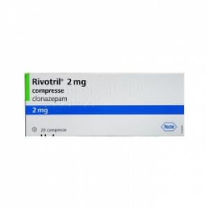 Thuốc điều trị động kinh Rivotril 2mg (2 vỉ x 10 viên/hộp)