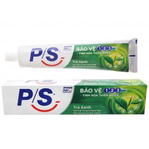 Kem đánh răng P/S bảo vệ 123 trà xanh thanh nhiệt (240g)
