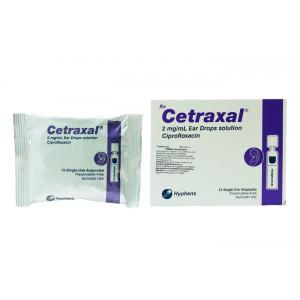 Thuốc nhỏ tai trị viêm tai Cetraxal (15 ống/hộp)