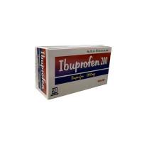 Thuốc giảm đau, kháng viêm Ibuprofen 200mg Nadyphar (10 vỉ x 10 viên/hộp)