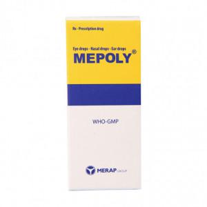 Thuốc nhỏ mắt, tai, mũi Mepoly (10ml)