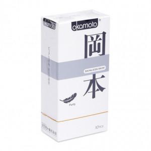 Bao cao su Okamoto Skinless Skin Purity (10 cái/hộp)