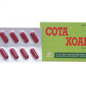 Viên uống hỗ trợ điều trị viêm xoang Cota Xoang (30 viên/hộp)