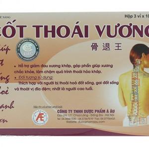 Viên uống điều trị thoái hóa cột sống Cốt Thoái Vương (3 vỉ x 10 viên/hộp)