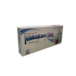 Thuốc giảm đau, kháng viêm Meloxicam 15mg Nadyphar (2 vỉ x 10 viên/hộp)