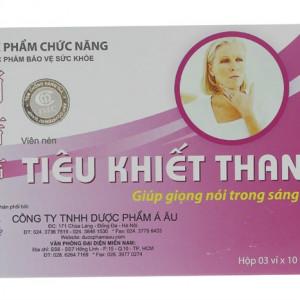 Viên uống hỗ trợ điều trị viêm thanh quản Tiêu Khiết Thanh (3 vỉ x 10 viên/hộp)