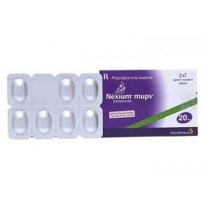 Thuốc trị loét dạ dày, tá tràng Nexium Mups 20mg (2 vỉ x 7 viên/hộp)