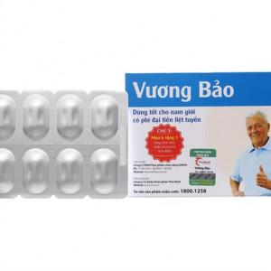 Viên uống hỗ trợ điều trị phì đại tiền liệt tuyến Vương Bảo (2 vỉ x 10 viên/hộp)