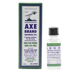 Dầu gió trắng hiệu Cây Búa Axe Brand (5ml)