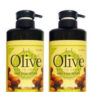 Bộ dầu gội, dầu xả Olive Shampoo (Tặng xịt dưỡng tóc No5 thơm mềm mượt)