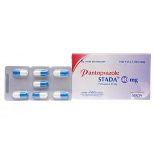Thuốc điều trị loét dạ dày - tá tràng Pantoprazole Stada 40mg (4 vỉ x 7 viên/hộp)