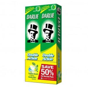 Combo 2 Kem đánh răng Darle Double Action (225g)