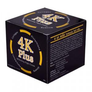 Kem dưỡng trắng da ban đêm 4K Plus Whitening Night Cream