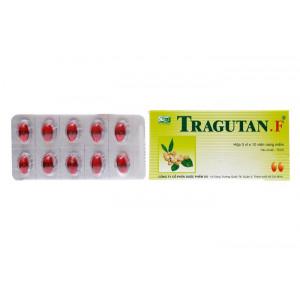 Thuốc ho Tragutan F (3 vỉ x 10 viên/hộp)