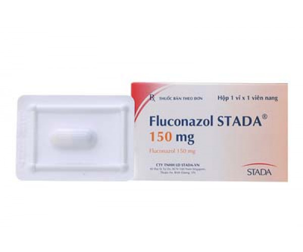 Thuốc kháng nấm Fluconazol Stada 150mg