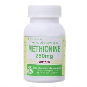 Methionine 250mg MKP (100 viên/chai)