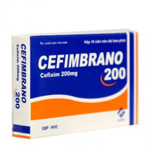 Thuốc kháng sinh Cefimbrano 200 (10 viên/hộp)