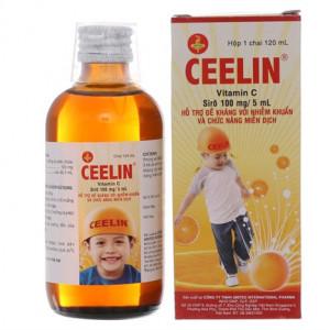 Siro bổ sung Vitamin C cho trẻ em Ceelin (120ml)