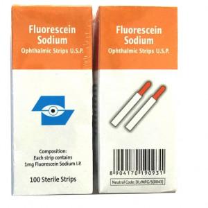 Que nhuộm Fluorescein Sodium Surgi Edge (100 que/hộp)