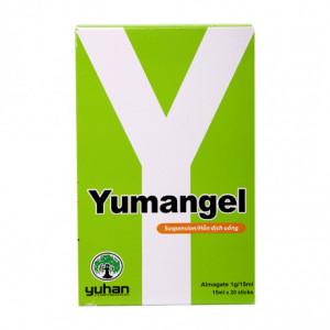 Thuốc trị loét dạ dày, tá tràng Yumangel (20 gói/hộp)