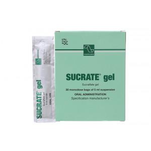 Thuốc trị loét dạ dày, tá tràng Sucrate Gel (30 gói/hộp)