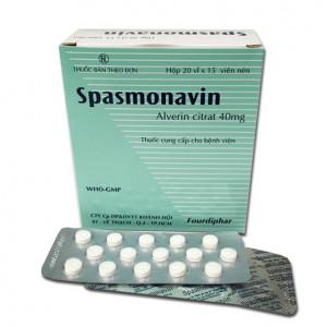 Spasmonavin 40mg (20 vỉ x 15 viên/hộp)
