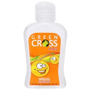 Gel rửa tay khô Green Cross hương cam (100ml)