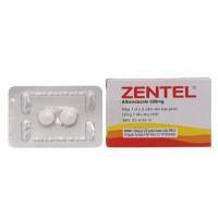 Thuốc trị giun, sán Zentel 200mg (2 viên/hộp)
