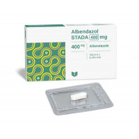 Thuốc trị giun, sán Albendazol Stada 400mg