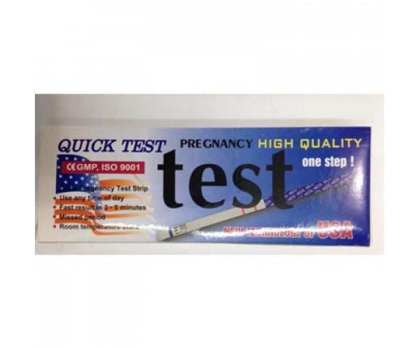 Que thử thai Quick Test