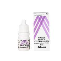 Dung dịch nhỏ mắt vô trùng Timolol 0.5% (5ml)