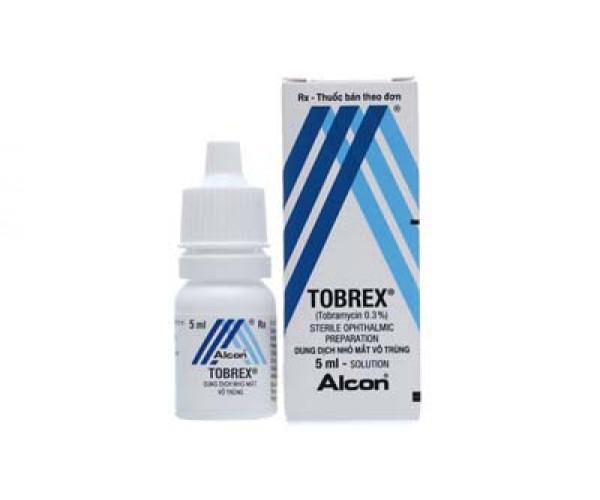 Thuốc nhỏ điều trị viêm mắt Tobrex (5ml)