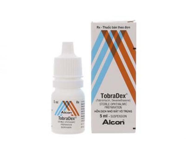 Thuốc nhỏ điều trị viêm mắt Tobradex (5ml)