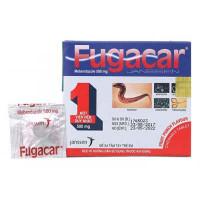 Thuốc điều trị nhiễm giun Fugacar vị ngọt trái cây 500mg