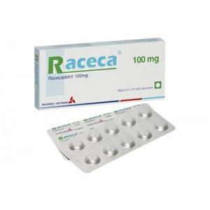 Thuốc trị tiêu chảy Raceca 100mg (2 vỉ x 10 viên/hộp)