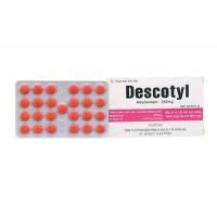 Thuốc giãn cơ Descotyl 250mg (10 vỉ x 25 viên/hộp)