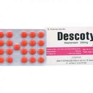 Descotyl 250mg (10 vỉ x 25 viên/hộp)