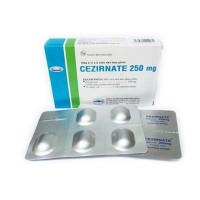 Thuốc kháng sinh Cezirnate 250mg (2 vỉ x 5 viên/hộp)