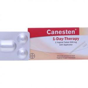 Viên đặt âm đạo trị nấm Canesten 500mg (1 viên/hộp)