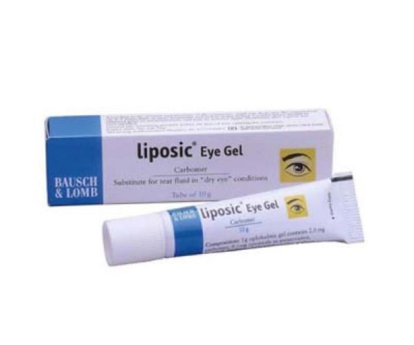 Gel tra mắt trị khô mắt Liposic Eye gel (10g)