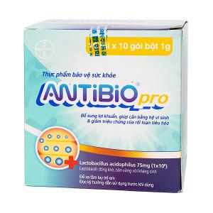 Thực phẩm chức năng giúp cân bằng hệ vi sinh đường ruột Antibio Pro (10 lốc x 10 gói/hộp)
