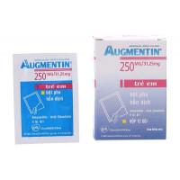 Thuốc kháng sinh Augmentin 250mg/31.25mg (12 gói/hộp)