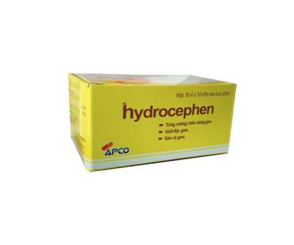 Thuốc tăng cường chức năng gan, giải độc gan Hydrocephen (10 vỉ x 10 viên/hộp)